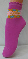 Носки детские для девочки Махра