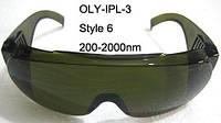 Очки защитные OLY-IPL-3  для IPL - 3 оправа 6, ЭЛОС Ю.Корея 200-2000nm; O.D: 4+