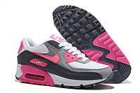 Кроссовки женские  Nike Air Max 90  (найк аир макс, оригинал) серые