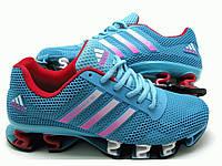 Кроссовки женские Adidas Megabounce голубые (Оригинал)