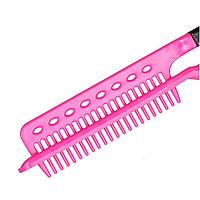 Термостойкая расческа -прихватка для выпрямления волос