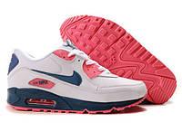Кроссовки женские Nike Air Max 90 (найк аир макс, оригинал) белые