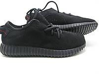Кроссовки мужские Adidas Yeezy Boost 350 Low Замшевые Оригинал черные