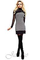 Короткое платье Мерси ТМ Жадон 42-50 размеры Jadone