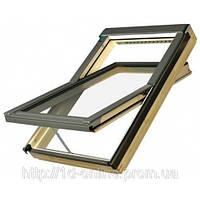 Мансардное окно Факро (FAKRO) FTP-V U3 Elektro, 07  78x140 cм