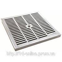 Решетка к дождеприемнику (пластик 530х530), серый; (3580-С); Standartpark