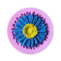 Силиконовая форма для мастики цветок для выпечки для шоколада конфет лепки торта молд для мыла