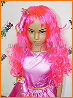 Карнавальный парик розовый