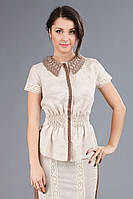 Женская блуза-вышиванка, размер 44