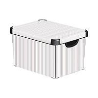 Декоративный ящик для хранения Curver Deco`s Stockholm Classico, 23л