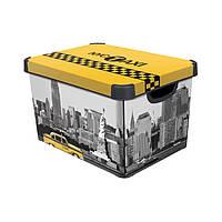 Декоративный ящик для хранения Curver Deco`s Stockholm Taxi, 23л