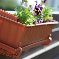 Балконный ящик для цветов Prosperplast Agro 15520, 80 см