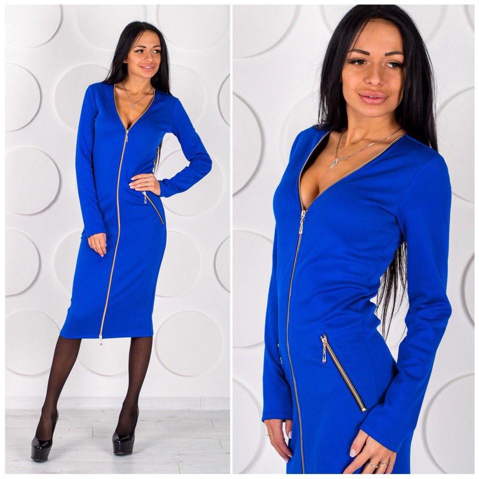 Купить платье из ткани дайвинг