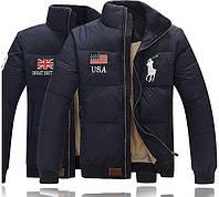 Пуховик POLO. Мужская куртка. Зимние куртки мужские. Пуховики мужские.