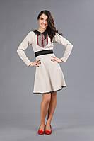 Платье с вышивкой для девушки, размер 44
