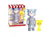 Интерактивная игрушка повторюшка Кот Том 2082