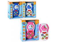 """Развивающая игрушка """"Весёлый телефон"""" Joy Toy 7287 ,4 цвета"""