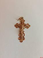Православный золотой крест 585* пробы