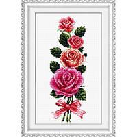 Набор для вышивания крестом «Роза» DOME 90715
