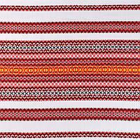 Декоративная ткань с национальным орнаментом