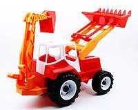 Детский трактор Экскаватор погрузчик Тигр универсал Орион (020)