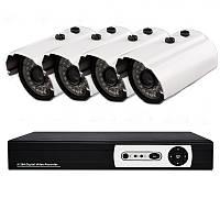 4х канальная система домашнего видеонаблюдения (DVR KIT H.264 DIY 4 CHANNEL), фото 1
