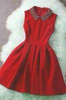 Модное короткое платье,в расцветках