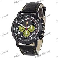 Часы мужские наручные Ferrari 3367 Black/Black-Yelloy