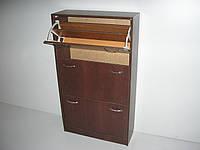 Обувница тройная(шкаф, тумба для обуви) ТМ АС-Мебель