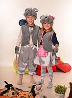 Карнавальный костюм мышки и мышонка