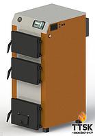 Твердотопливный котел KOTLANT КГ-27 с электронной автоматикой и вентилятором