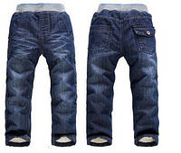 Детские утепленные джинсы на мальчика