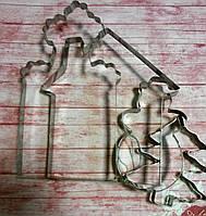 """Вырубка для пряника """"Дом под Рождество""""(код 04428)"""