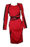 Женское платье с портупеей