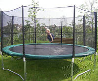 Защитная сетка для батута KIDIGO диаметром 426 см. Купить детский батут в Киеве.
