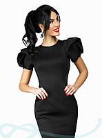 Элегантное черное платье мини S M L