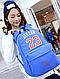Молодежный прочный городской рюкзак 12 л. URBANSTYLE, 070 синий, фото 5