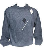Мужской свитер тёплый полубатал