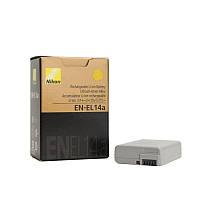Аккумулятор для фотоаппаратов NIKON D3100, D3200, D3300, D5100, D5200, D5300, D5500 - EN-EL14a