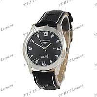 Часы женские наручные Longines Brilliant Black/Silver/Black