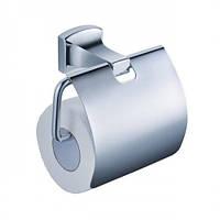 Держатель туалетной бумаги с крышкой KRAUS