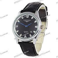 Часы женские наручные Longines 8114-3 White-Silver/Black
