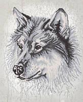 РКП-2-020 Волк. Схема для вышивания бисером