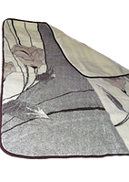 Одеяло из овечьей шерсти 2х2.1 м
