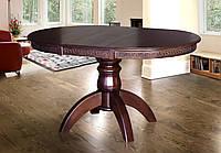 Стол обеденный Престиж орех темный (Микс-Мебель ТМ)