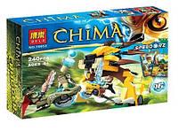 Конструктор 10053 bela - chima чима финальный поединок 240 детали аналог лего легенды чимы lego 70115