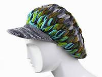 Женская объемная шапка