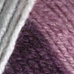 Пряжа для ручного вязания Color Garden YarnArt (шерсть+акрил) белый-лиловый-сиреневый