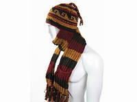 Шапка и шарф мужская