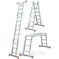 Шарнирная лестница Werk LC2416 (4x4)